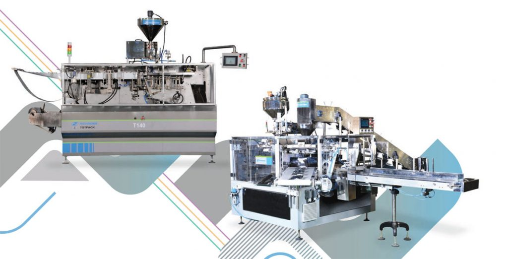 Horizontal packaging machine