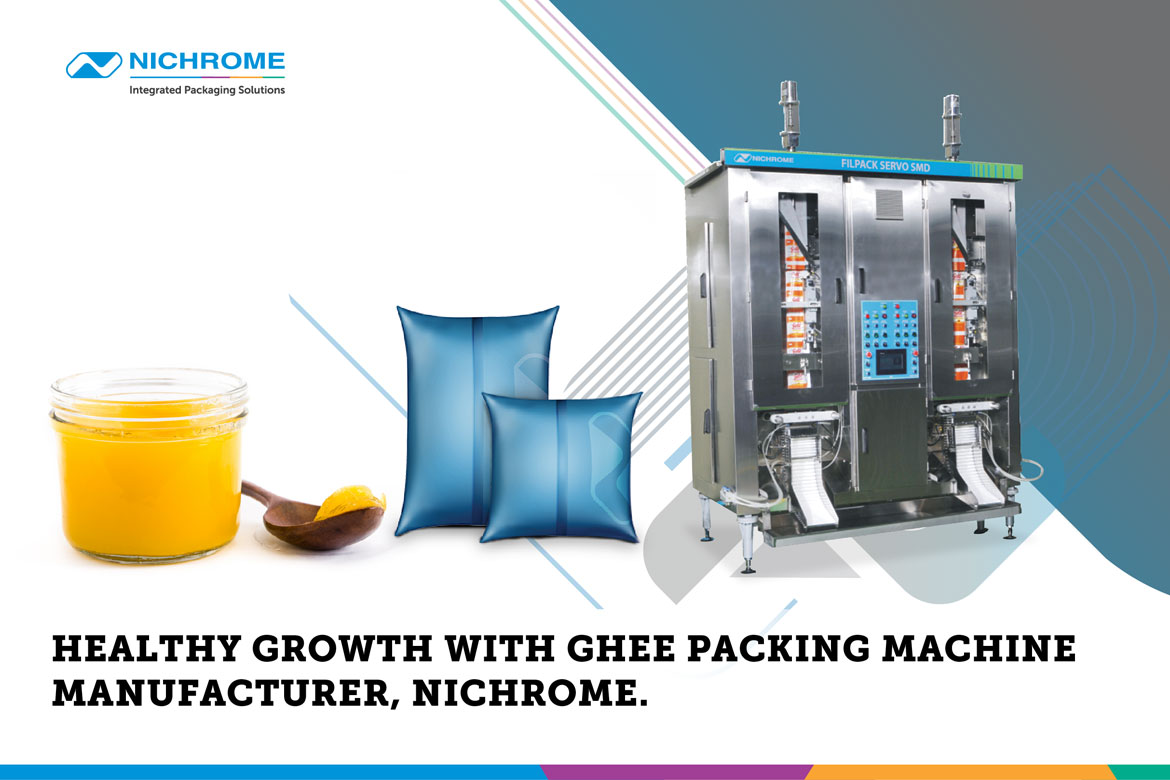 Ghee Packaging Machine Manufacturer