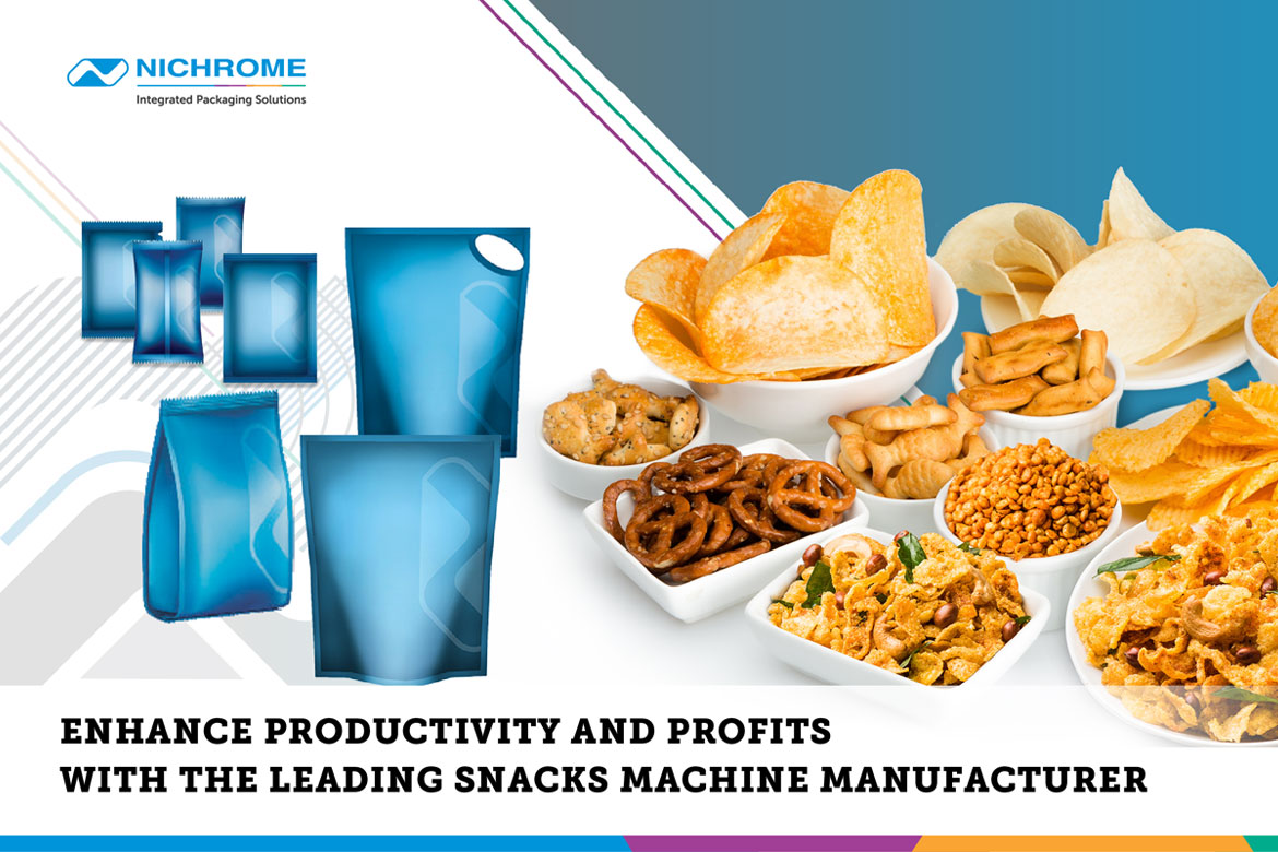 Snacks food packaging machine