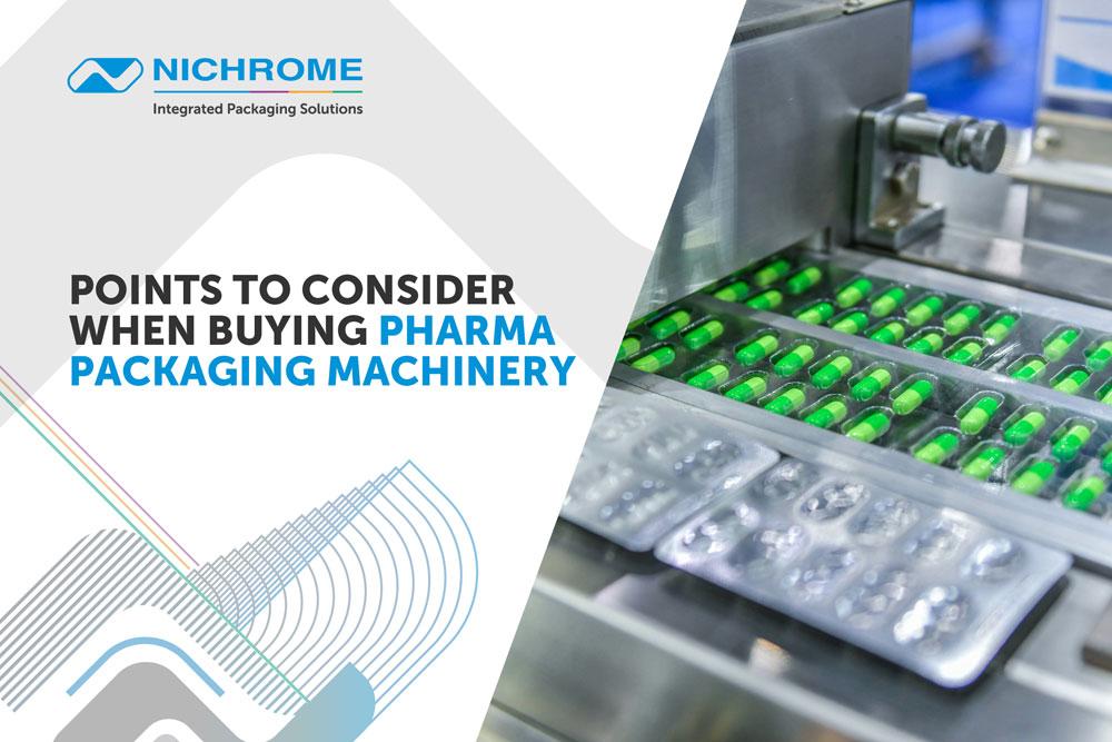 pharmaceutical packaging machines